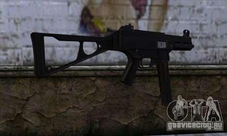 UMP45 v1 для GTA San Andreas второй скриншот