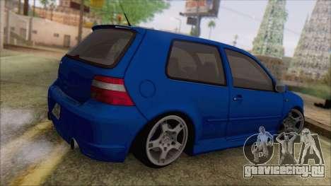 Volkswagen Golf 4 R36 для GTA San Andreas вид слева