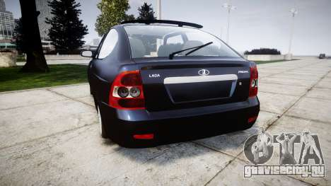 ВАЗ-21728 LADA Priora Coupe для GTA 4 вид сзади слева
