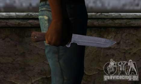 Daryl Knife from The Walking Dead для GTA San Andreas третий скриншот