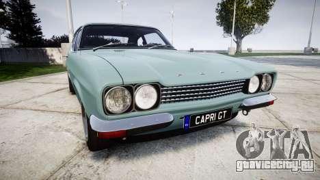 Ford Capri GT Mk1 для GTA 4