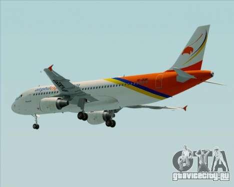 Airbus A320-200 Airphil Express для GTA San Andreas