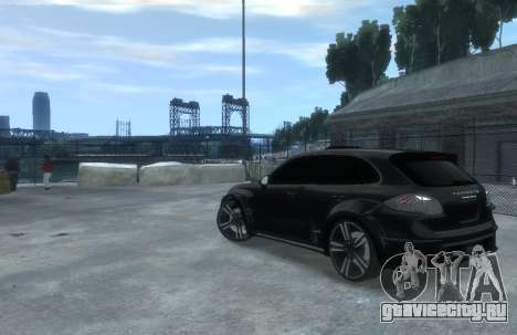 Porsche Cayenne 2012 GT для GTA 4 вид слева