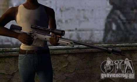 AW50 from Far Cry для GTA San Andreas третий скриншот