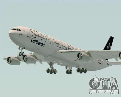 Airbus A340-300 Lufthansa (Star Alliance Livery) для GTA San Andreas вид сбоку
