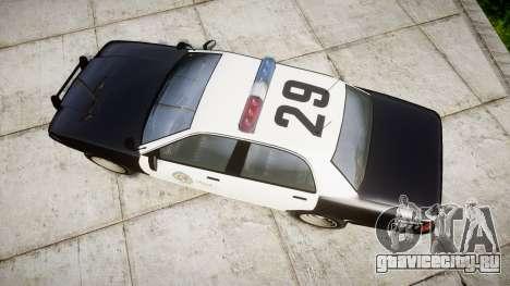 GTA V Vapid Police Cruiser Rotor для GTA 4 вид справа