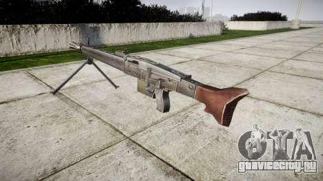 Немецкий пулемёт MG3 icon2 для GTA 4 второй скриншот