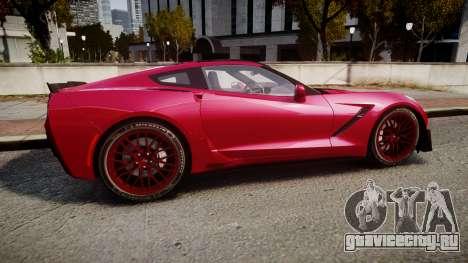 Chevrolet Corvette Z06 2015 TireMi2 для GTA 4 вид слева