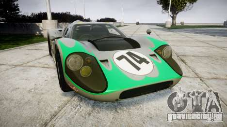 Ford GT40 Mark IV 1967 PJ Arnao Racing 74 для GTA 4