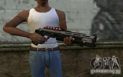 Shotgun from Deadpool для GTA San Andreas третий скриншот