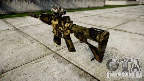 Автомат P416 ACOG silencer PJ2 target для GTA 4 второй скриншот