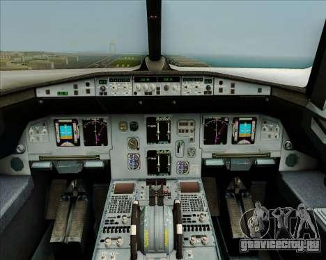 Airbus A320-200 Airphil Express для GTA San Andreas салон