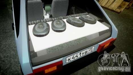 ВАЗ-2109 бродяга для GTA 4 вид сбоку