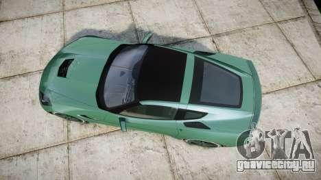 Chevrolet Corvette C7 Stingray 2014 v2.0 TireMi3 для GTA 4 вид справа