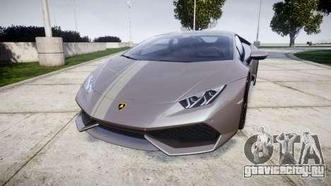 Lamborghini Huracan LP 610-4 2015 для GTA 4
