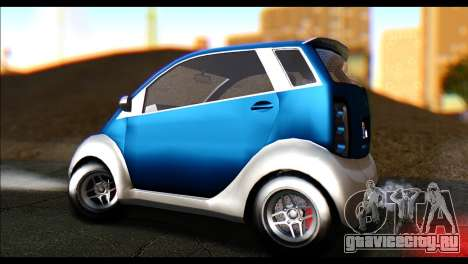 GTA 5 Benefactor Panto для GTA San Andreas вид сзади слева