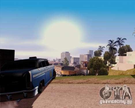 Borgnine для GTA San Andreas вид сзади слева