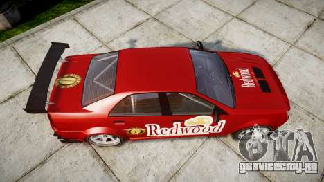 Albany Presidente Racer [retexture] Redwood для GTA 4 вид справа