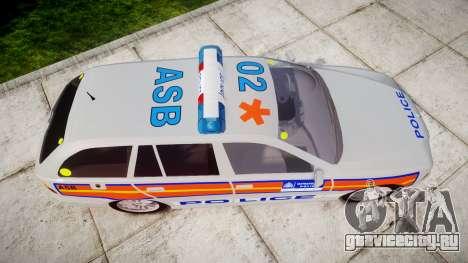 BMW 525i E39 Touring Police [ELS] JSARVV для GTA 4 вид справа