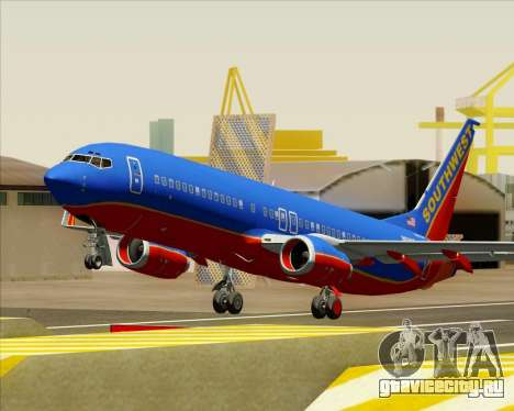 Boeing 737-800 Southwest Airlines для GTA San Andreas