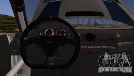 BMW M3 E46 GTR для GTA San Andreas салон