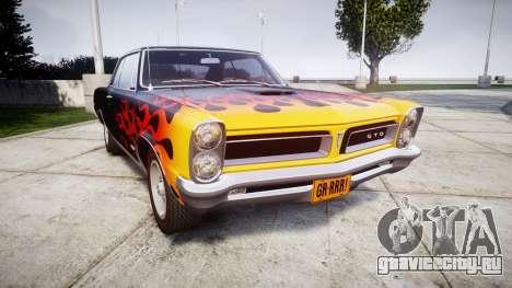 Pontiac GTO 1965 Flames для GTA 4