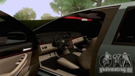 Toyota Vios Extreme Edition для GTA San Andreas вид сверху