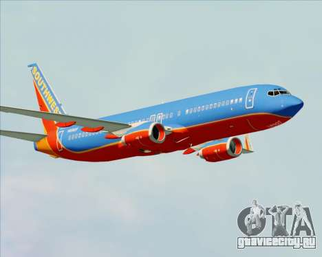 Boeing 737-800 Southwest Airlines для GTA San Andreas