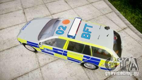 BMW 525i E39 Touring Police [ELS] BTV для GTA 4 вид справа