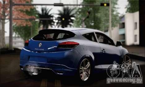 Renault Megane для GTA San Andreas вид слева