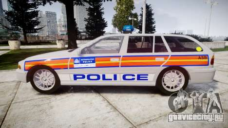 BMW 525i E39 Touring Police [ELS] JSARVV для GTA 4 вид слева