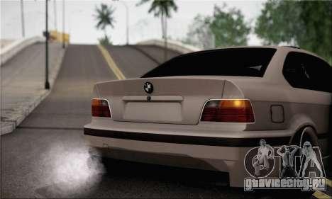 BMW M3 E36 Bosnia Stance для GTA San Andreas вид сзади слева