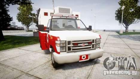 Brute V-240 Ambulance [ELS] для GTA 4