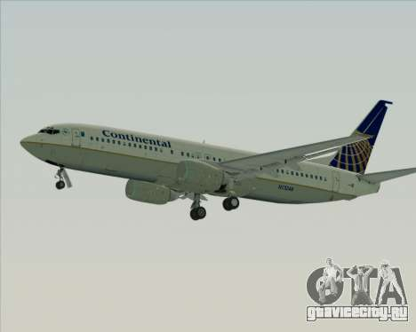 Boeing 737-800 Continental Airlines для GTA San Andreas