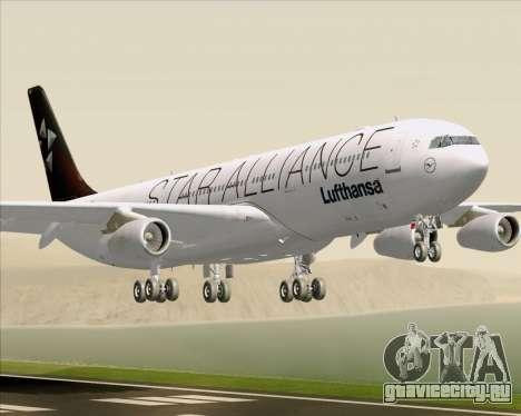 Airbus A340-300 Lufthansa (Star Alliance Livery) для GTA San Andreas