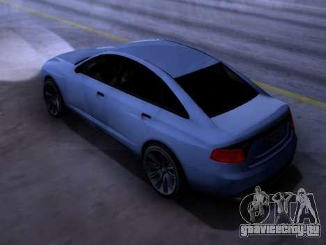 Obey Tailgater GTA V для GTA San Andreas вид слева