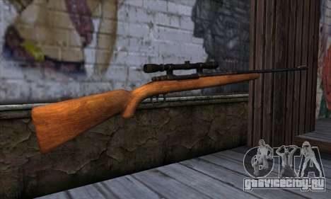 Sniper Rifle from The Walking Dead для GTA San Andreas второй скриншот