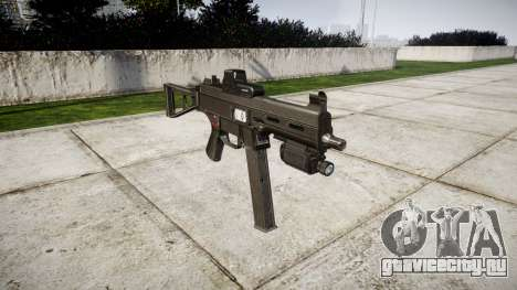 Немецкий пистолет-пулемёт HK UMP 45 для GTA 4