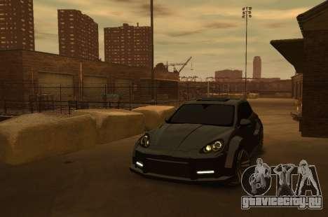 Porsche Cayenne 2012 GT для GTA 4 вид изнутри