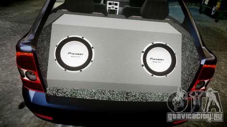 ВАЗ-21728 LADA Priora Coupe для GTA 4 вид сверху