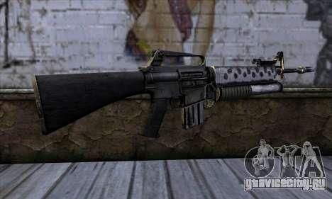 M4 from Call of Duty: Black Ops v2 для GTA San Andreas второй скриншот