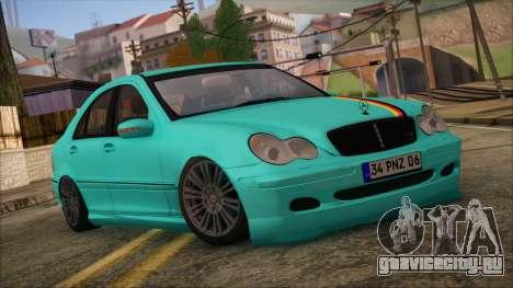 Mercedes-Benz C320 AMG для GTA San Andreas