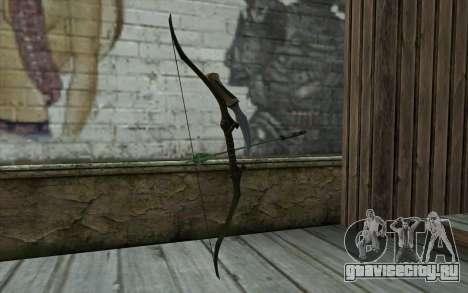 Green Arrow Bow v1 для GTA San Andreas второй скриншот