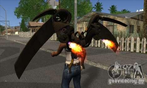 Jetpack from Batman Arkham Origins для GTA San Andreas