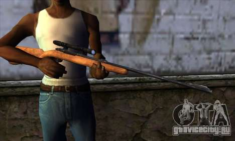 Sniper Rifle from The Walking Dead для GTA San Andreas третий скриншот