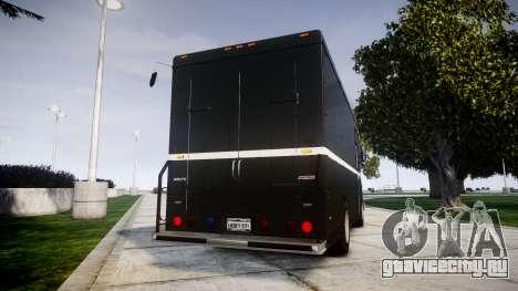 Brute Boxville N.O.O.S.E для GTA 4 вид сзади слева