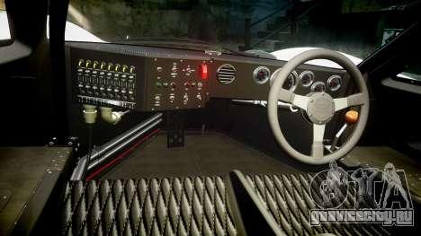 Ford GT40 Mark IV 1967 PJ Fernando Pedace 7 для GTA 4 вид сзади