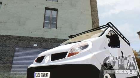 Renault Trafic для GTA 4 вид слева