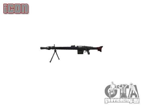 Немецкий пулемёт MG3 icon2 для GTA 4 третий скриншот