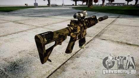 Автомат P416 ACOG silencer PJ2 для GTA 4 второй скриншот